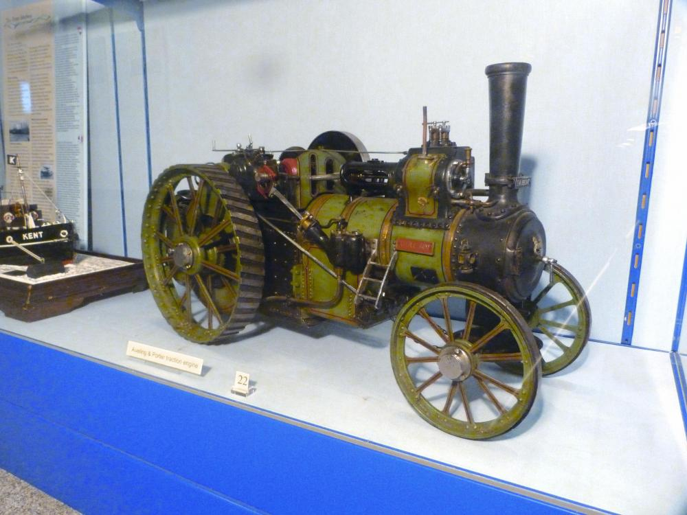Aveling and Porter traction engine
