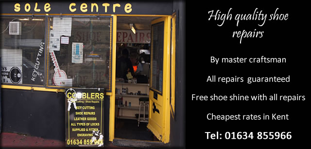 Cobbler services at affordable prices