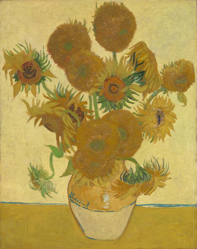 Vincent van Gogh. Sunflowers. 1888. © The National Gallery, London