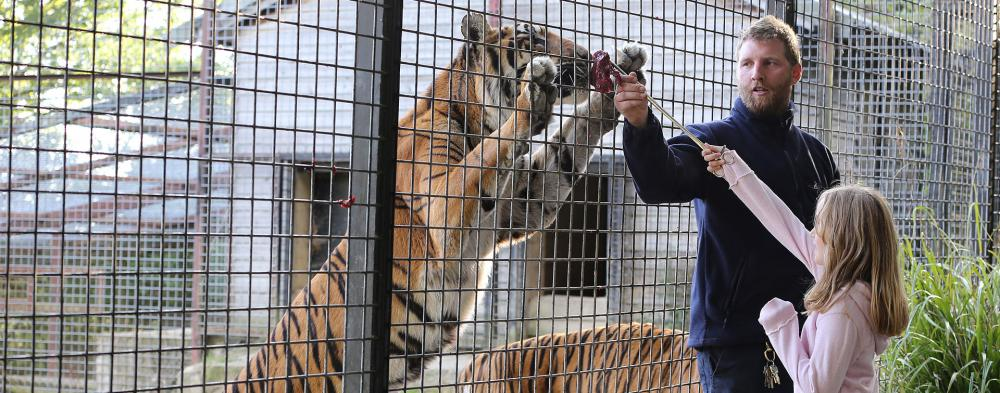 Experience Animal Encounters  Our popular 30 minute Animal Encounters offer the chance to get up close and personal with some of the most rare and endangered animals on the planet.